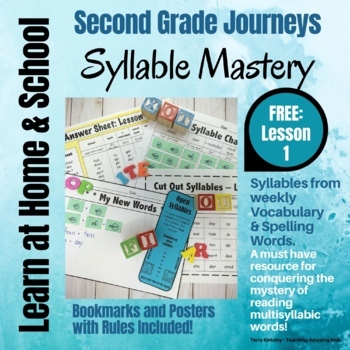 Free: 2nd Grade - Help! I Can't Read Multisyllabic Words -