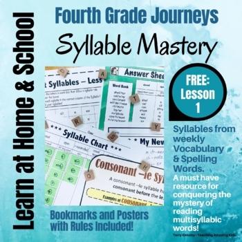 Free: 4th Grade - Help! I Can't Read Multisyllabic Words -