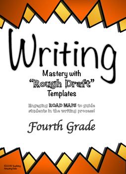"Free - 4th Grade:  Writing Mastery with ""Rough Draft"" Temp"