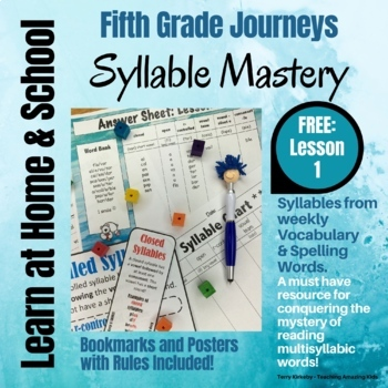 Free: 5th Grade - Help! I Can't Read Multisyllabic Words -