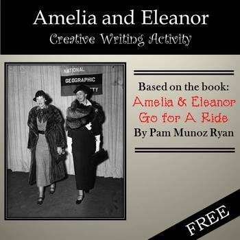 Free: Amelia & Eleanor Creative Writing Activity based on