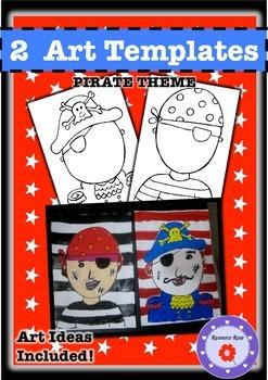 Free Art Activities- Pirate Theme