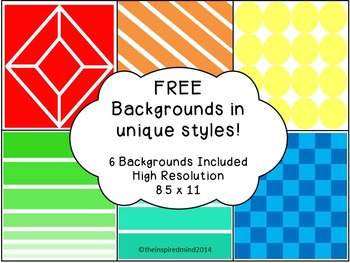 Free Digital Papers in 6 Unique Styles {8.5 x 11}