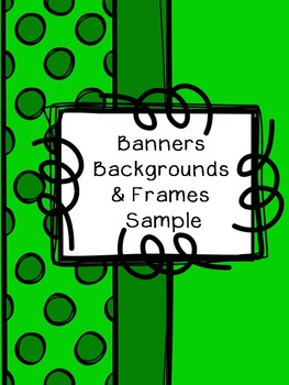 Free Banners, Backgrounds, and Frame Clipart