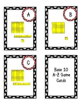 Free Base Ten Center Game