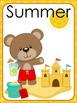 Free Bear seasons posters flashcards