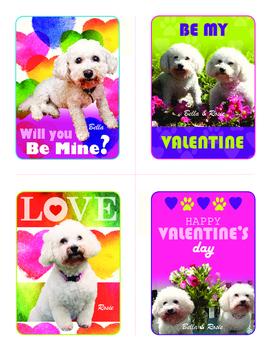 Free Bella and Rosie Valentines (Set of Four) #1