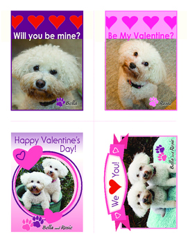 Free Bella and Rosie Valentines (Set of Four) #4
