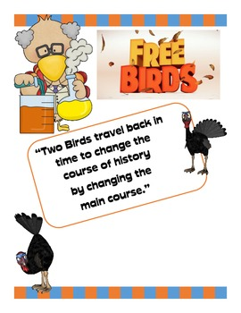 Save the Turkeys:  Free Birds a Persuasive Writing Activity