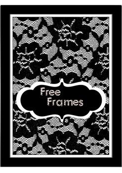 Free Black & White Frames