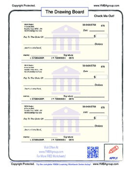 Worksheets Blank Checks Worksheet free blank checks worksheet by ymba group learn business and life worksheet