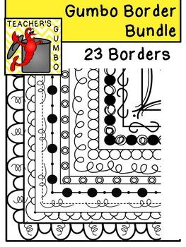 Gumbo Borders Bundle