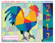 Free Chinese New Year 2017 Rooster abstract art activity pack