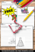 FREE Christmas Creative Writing Papers for Literacy Centers