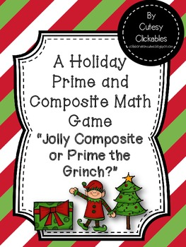 Free Christmas Prime and Composite Game