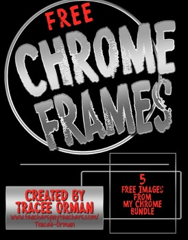 Free Chrome Clipart Frames for Commercial Use