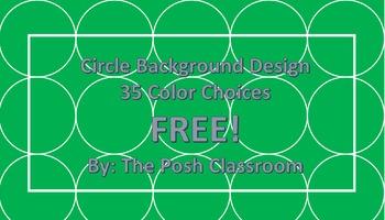 Free Circle Background Art