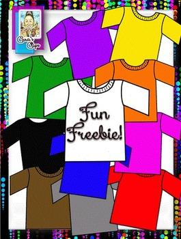 Free Clip Art~T Shirts - Five Hundred Fantastic Followers