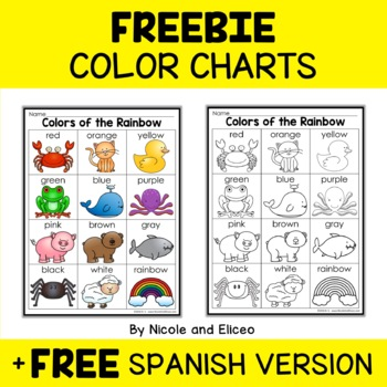 Free Color Chart