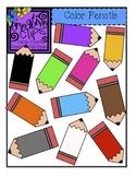 {Free} Color Pencils Clipart