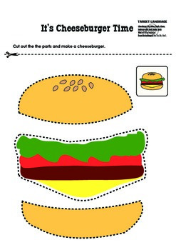 Free Color and Cut Prints for Pre-K and Kindergarten 1