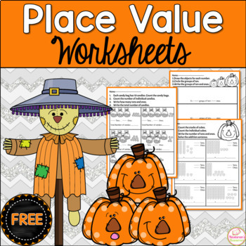 Free Common Core Place Value Worksheets First Grade:Place