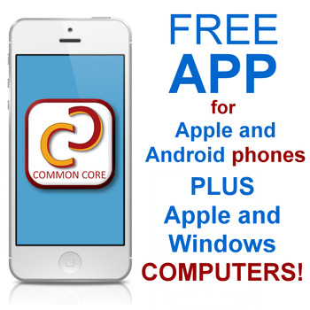 Free Common Core State Standards App
