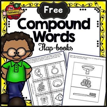 Free Compound Word Flap-books