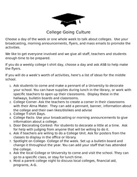 Creating a College Going Culture