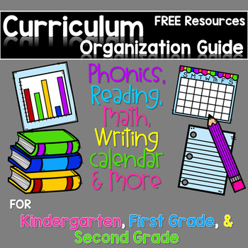Curriculum Organization Guide and FREE sample