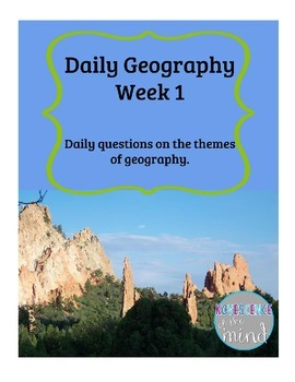 Free Daily Geography Questions