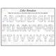 Free Download, Alphabet Mat, Letter Formation