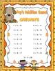 Free Downloads  Fall Math Games! Grades 1-2