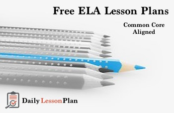 Free ELA Lesson Plans & Resources