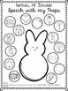 Free Easter Themed Speech Sound Worksheets- l and l blends