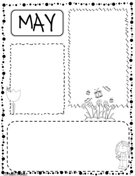 Free Editable Classroom Newsletter for May