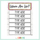 """{Free} Editable """"Where Are We?"""" Sign"""