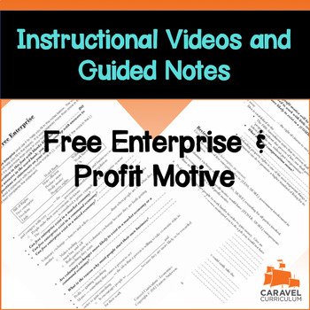 Free Enterprise and Profit Motive Instructional Video and