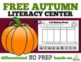 Free Fall Literacy Center