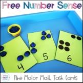 Free Fine Motor Number Cards
