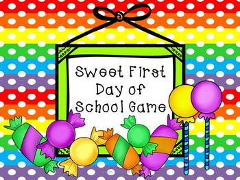 Free First Day of School Activity