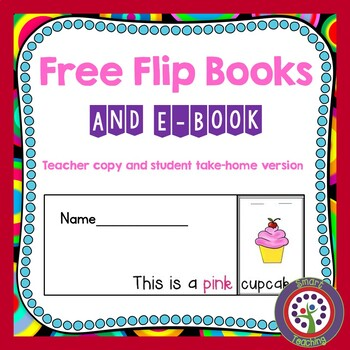 Free Flip Book Learn Sight Words