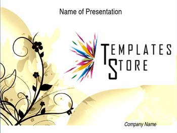 Free Floral PowerPoint Template