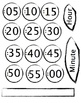 Free Flower Clock Template to decorate your classroom clock