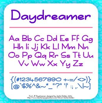 Free Font: Daydreamer (True Type Font)