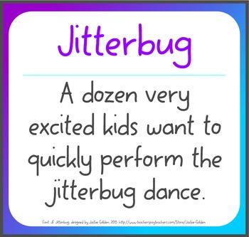 Free Font: Jitterbug (True Type Font)