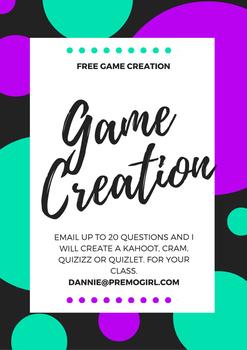 Free Game Creation