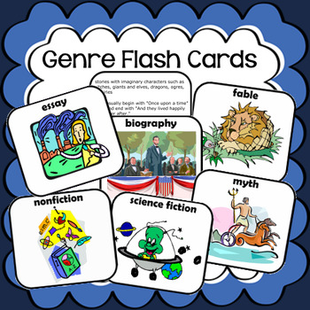 Genre Flash Cards
