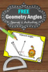 FREE Geometry Angles Task Cards 7th Grade Common Core Math