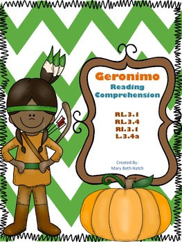 Free Geronimo Reading Comprehension
